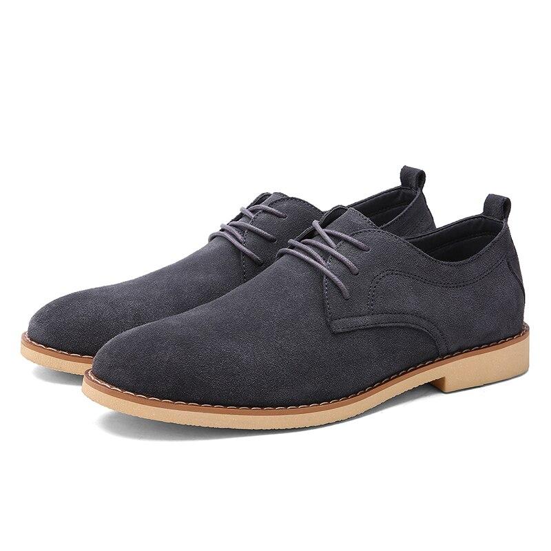 Up bas Chaussures Hommes En dark Confortable slip Bleu Black Occasionnels Blue Foncé Noir Coupe Élégant grey Véritable Lace Non Gris Cuir Toe Oxford Roud frfYwq5pvx