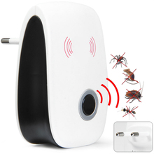 Eu Us Plug Electronic Ultrasonic Pest Repeller Mosquito Repellent Anti Killer