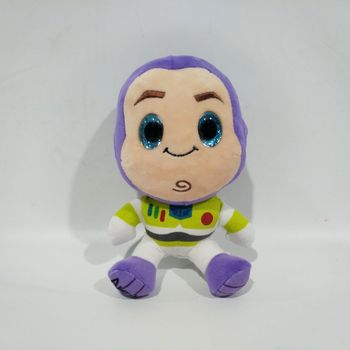 16cm Toy Story 3 Buzz Lightyear Plush Toys Figure Doll with Blue Twinkling Eyes Kids Gift toy story bunny toys