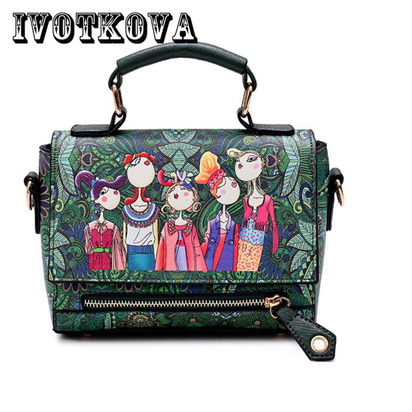 IVOTKOVA Fashion Women Tote Handbag New Design Female Cross Body Bag Hot Sale Lady Shoulder Bag Purse Bolsa Feminina hot fashion chinese style women handbag embroidery ethnic summer fashion handmade flowers ladies tote shoulder bags cross body