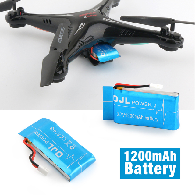 NEW Syma X5SW X5SC RC Quadcopter Battery 3.7V1200mAh Lipo Battery Spare Parts with 5 in1 cable