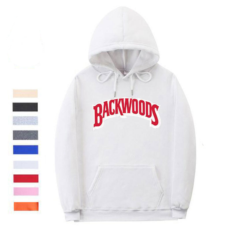 The screw thread cuff Backwoods Hoodie 2