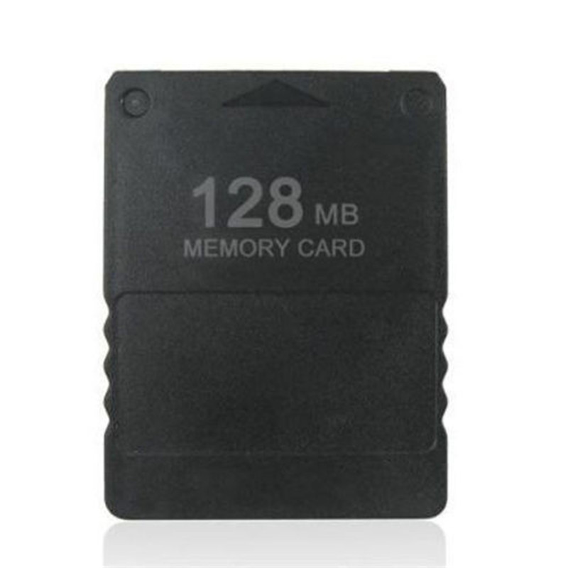 Top Selling Black 128MB Memory Card Save Game Data Stick Module For Sony for PS2 for Playstation 2 New