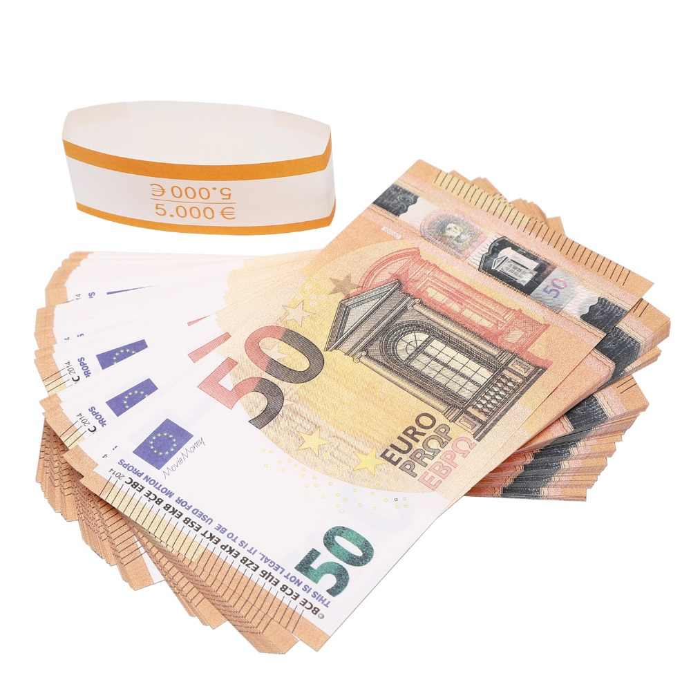 Detail Feedback Questions about PROP MONEY REALISTIC EUROS |50 NOTES