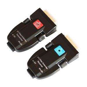 Image 3 - אופטי סיבי משדר סיבי מדיה ממיר AMS DTR1L מיני dvi סיבי extender תמיכת 4k עבור ענק led תצוגה