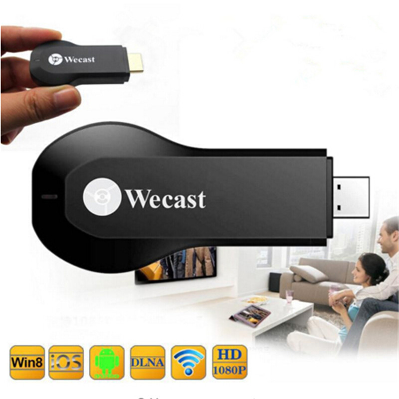 HOT! Wecast rk2928 Miracast HDMI Dongle Tv stick WiFi Display Receiver ezcast Google Chromecast Media Streamer no app needed