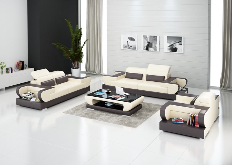 1+2+3seater leather sofa for living room 0413-G8002D