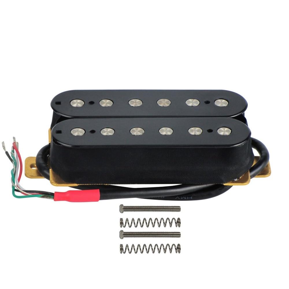 Double Humbucker Guitar Wiring : buy new black double coil humbucker pickup guitar neck pickup 50mm 4 wire for ~ Hamham.info Haus und Dekorationen