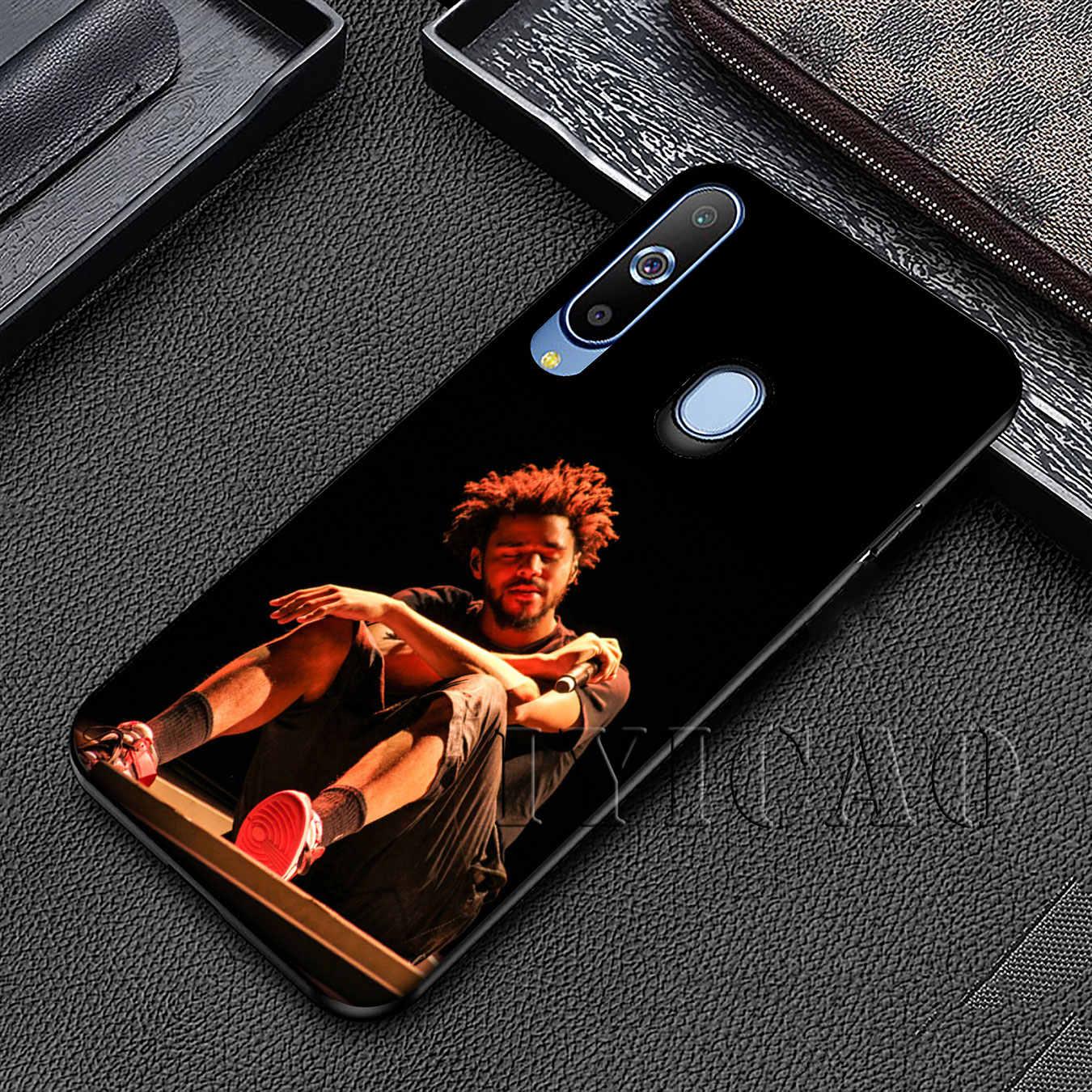 IYICAO J COLE хип-хоп Мягкий силиконовый чехол для samsung Galaxy A70 A50 A40 A30 A10 M10 M20 M30 черная крышка