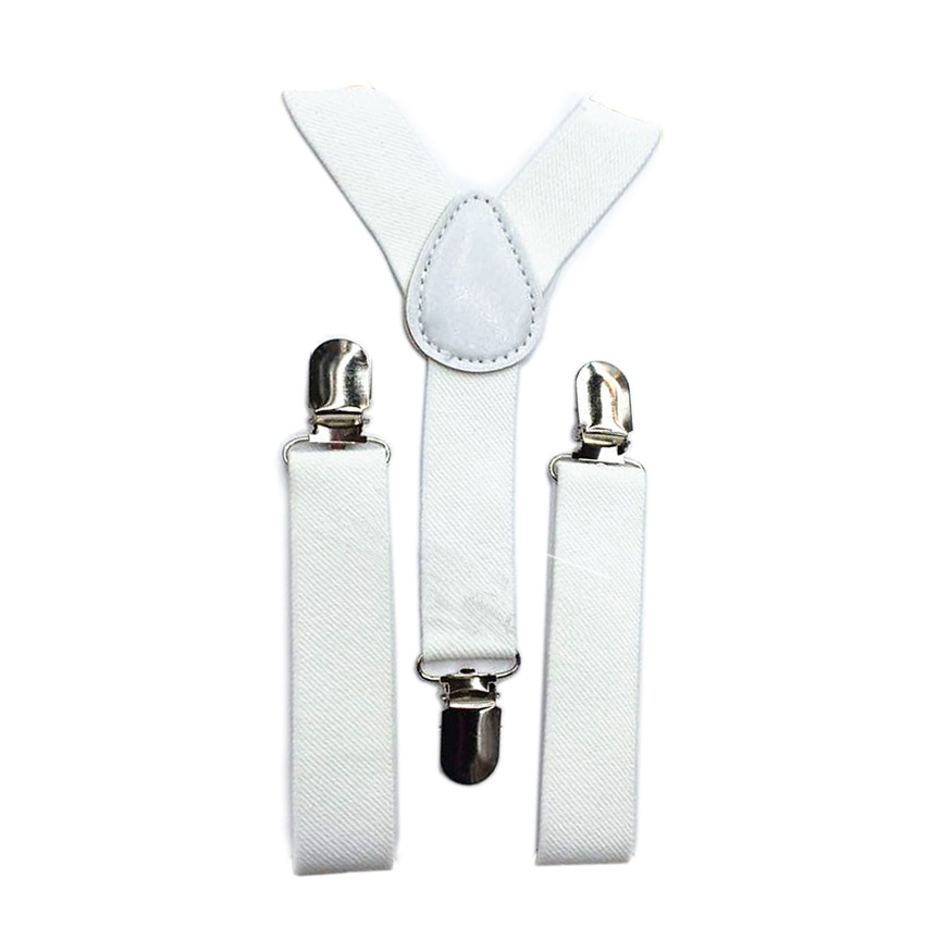 Kids Boys Girls Y-Back Suspender Elastic Adjustable Clip-On Braces