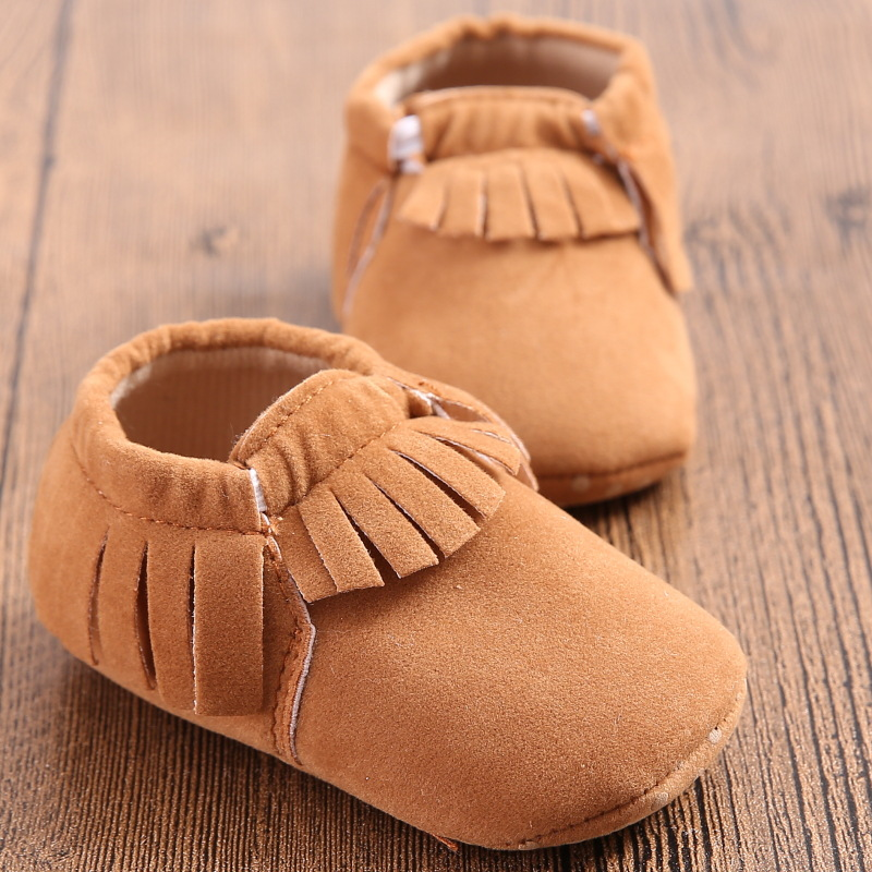 Fashion New Styles Suede Pu Leather Infant Toddler Newborn Baby Children First Walkers Crib Moccasins Soft Moccs Shoes Footwear Infant Toddler Infant Fashionbaby Footwear Aliexpress