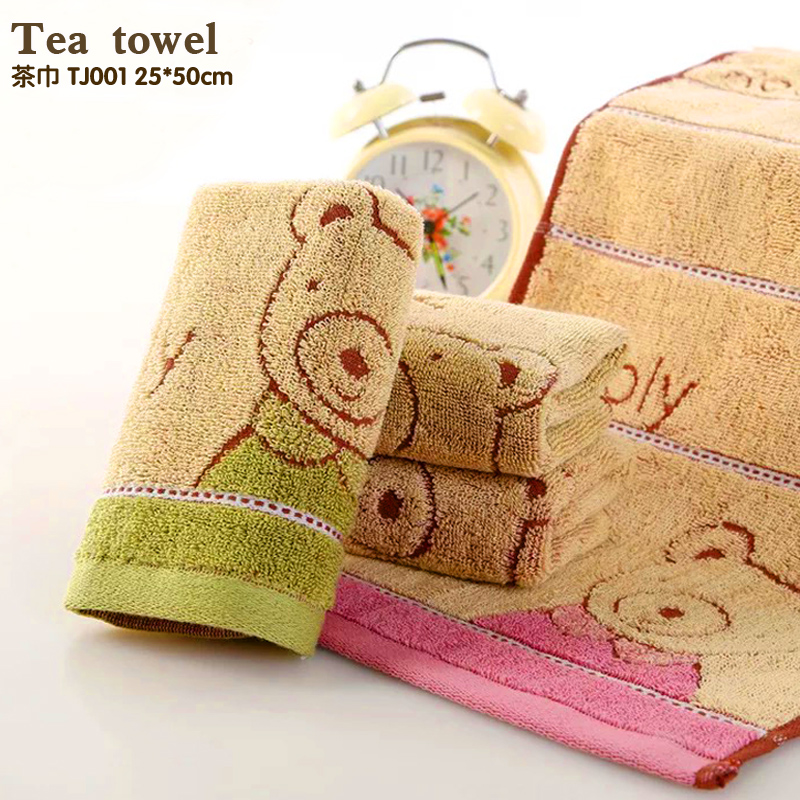 100% cotton Authentic sweet candy colored Absorbent Dry Towel baby towel super soft kid child towel wipe sweat