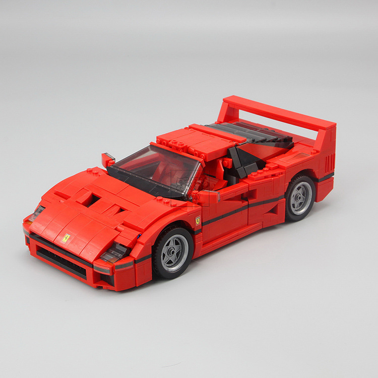 LEPIN 21004 Technic Series F40 Sports Car Building Blocks Bricks Educational Toys for Children Gifts Compatible 10248 lepin technic series lepin 21004 ferrarie f40 sports car model building blocks kits bricks toys compatible with 10248