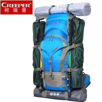 Nuevo Creeper 60L Mochilas Al Aire Libre Hombres Mujeres Mochila De Senderismo Alpinismo Camping Impermeable Profesional Nylon Bolsas Envío Gratis