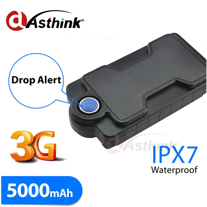 Portable 3G GPS Tracker 5000mAh Rechargeable Battery Powerful Magnet FREE Tracking Software Platform phone APP TK05GSE vjoycar tk05sse 5000mah rechargeable removable battery solar gps tracker gsm gprs waterproof magnet locator free software app