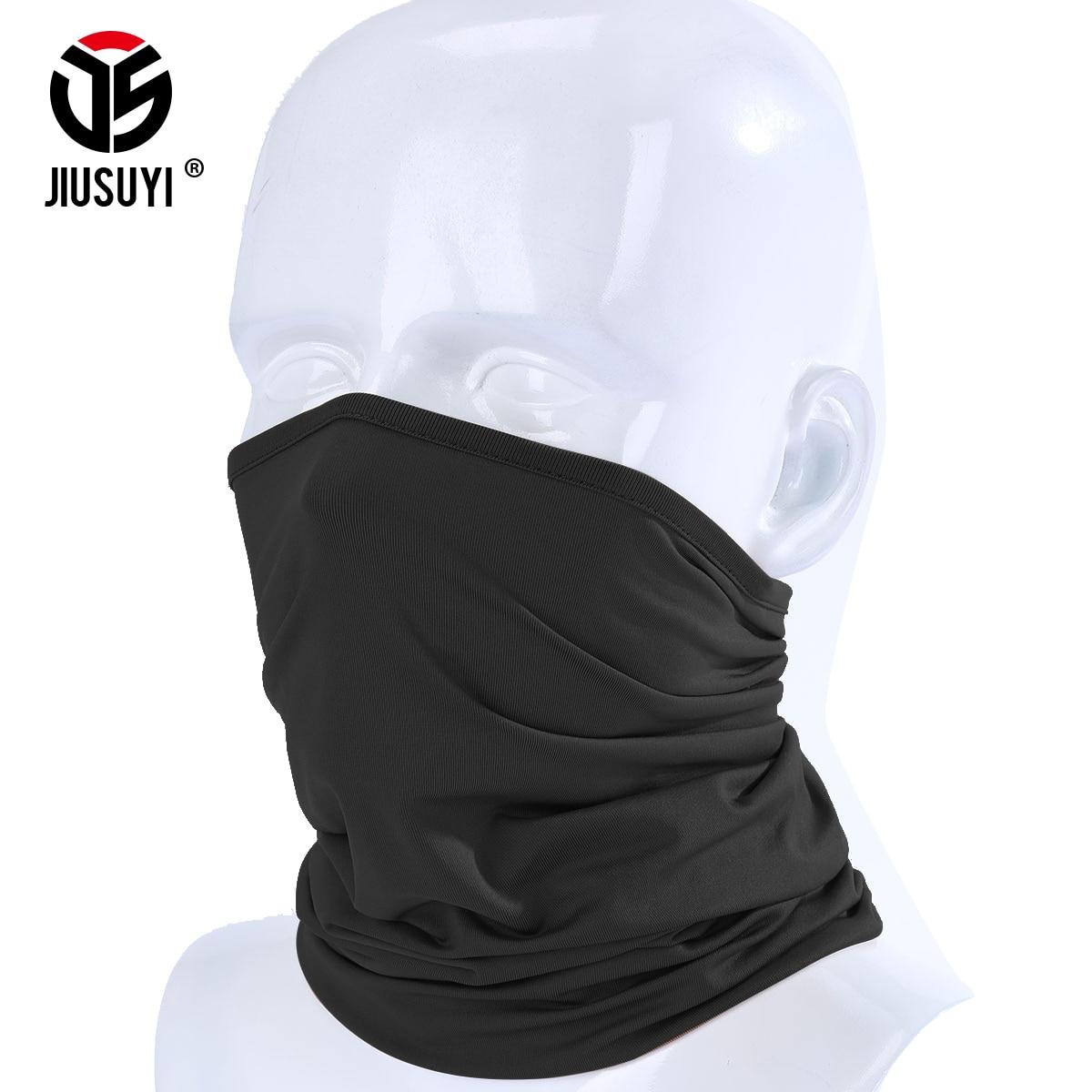 Magic Headband Elastic Breathable Neck Gaiter Warmer Tube Scarf Half Face Mask Bandana Headwear Bicycle Sweatband Pirate Hat Men