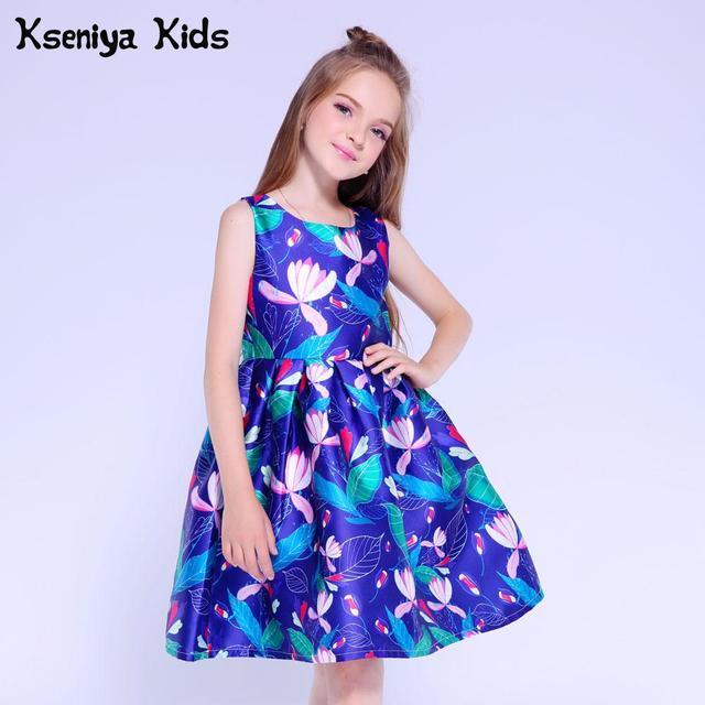 Kseniya Kids Wedding Dresses Flower Girls Dress For Baby Girl Clothes Girls Summer Dress Party Dresses For Girls 10 12 13