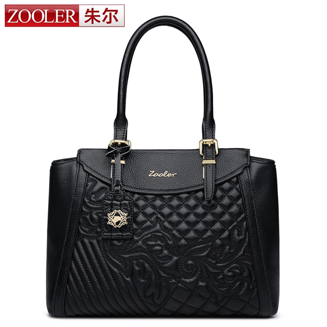 ZOOLER high quality women leather bag luxury pattern handbags women bags designer luxury shoulder bag bolsa feminina#8158