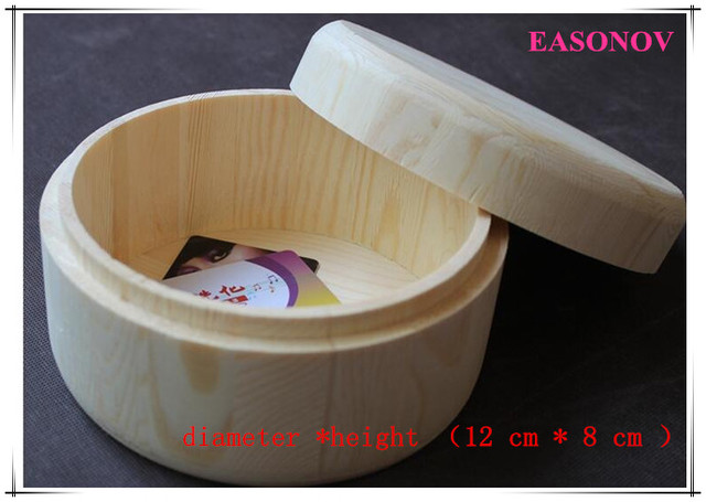 40 40cm Large Wooden Round Box Storage Storage Wooden Box Retro Classy Wooden Box To Decorate