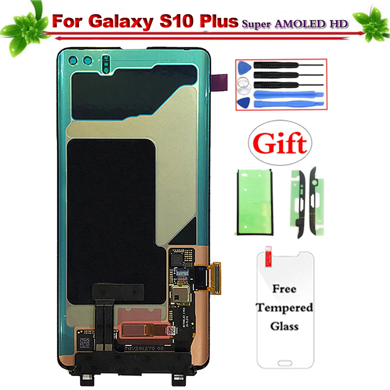 6.4 for Samsung Galaxy S10 Plus G9750 G975U G975A G975F LCD Display Touch Screen Digitizer Assembly for Galaxy S10 Plus Lcd6.4 for Samsung Galaxy S10 Plus G9750 G975U G975A G975F LCD Display Touch Screen Digitizer Assembly for Galaxy S10 Plus Lcd