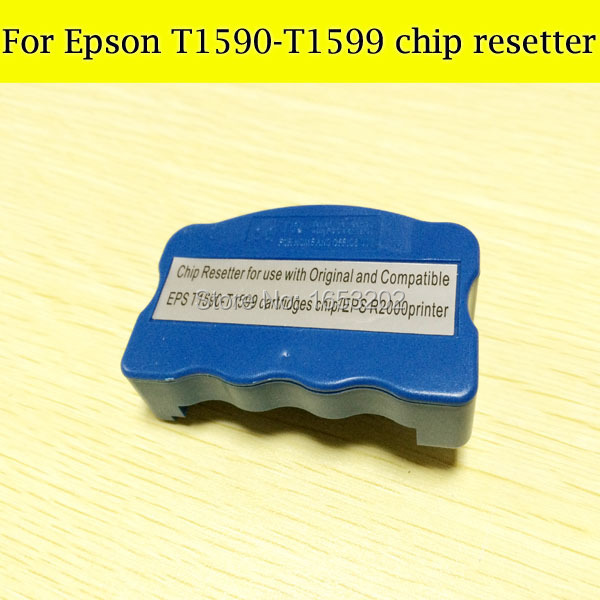 High Quality Chip Resetter For Epson R2000 Compatible For Epson T1590-T1599 Cartridge cs dx18 universal chip resetter for samsung for xerox for sharp toner cartridge chip and drum chip no software limitation