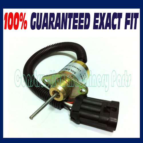 6691498 BOBCAT FUEL SHUT OFF SOLENOID SWITCH Skid S130 S150 S160 S175 S185 S205 S450 bobcat новый