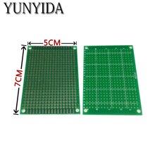 98-21 5 штук 5x7 см Односторонний Прототип PCB Универсальный печатные платы