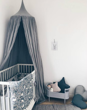 Palace Style Baby Crib Netting Bed Mantle Bed Nets Dome Tent Kids Room Decor Infants Sleep Bedside Crib Netting barraca infantil