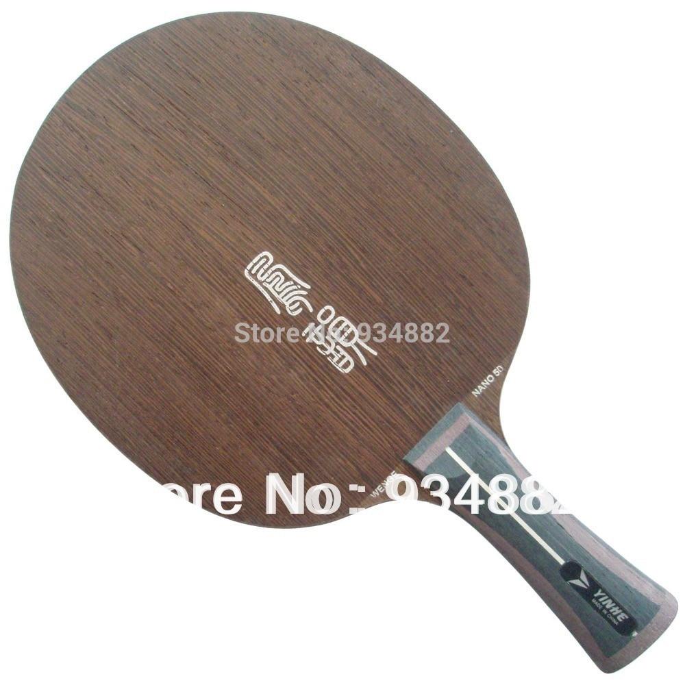 Yinhe Wenge Nano NW-50 (NW50, NW 50) Table Tennis (Ping Pong) Blade yinhe earth 4 e4 e 4 e 4 shakehand table tennis ping pong blade