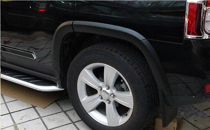Per Jeep Compass 2011 2012 2013 2014 2015 Esterno Fender Flare Estensione Ruota Archi Protezioni 10 pz