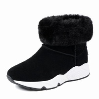 Winter New Plus Velvet Warm Snow Boots Female Non Slip Large Size Women S Boots