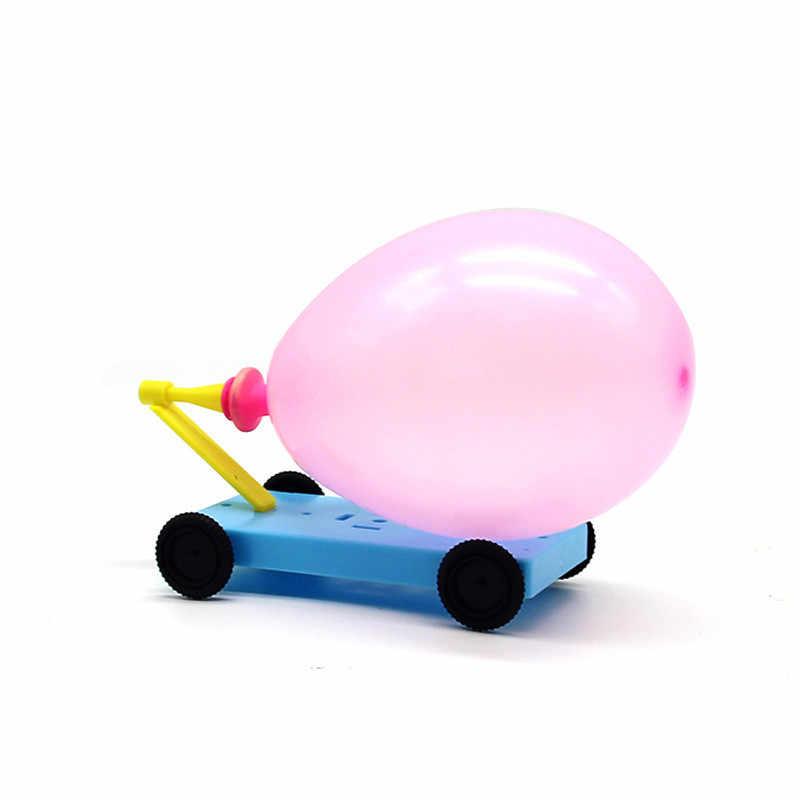 Wissenschaft experiment spielzeug ballon reaktion auto lustige kinder pädagogisches spielzeug hausgemachte diy material besten geschenke für kinder