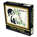 500 Pcs/Set Puzzles Panda Painting Adult Kids DIY Jigsaw Puzzle Creativity Imagine Toys Free SHipping