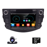 2 Din Car GPS Navigation Car Stereo For Toyota RAV4 2006 2012 Bluetooth SWC USB SD