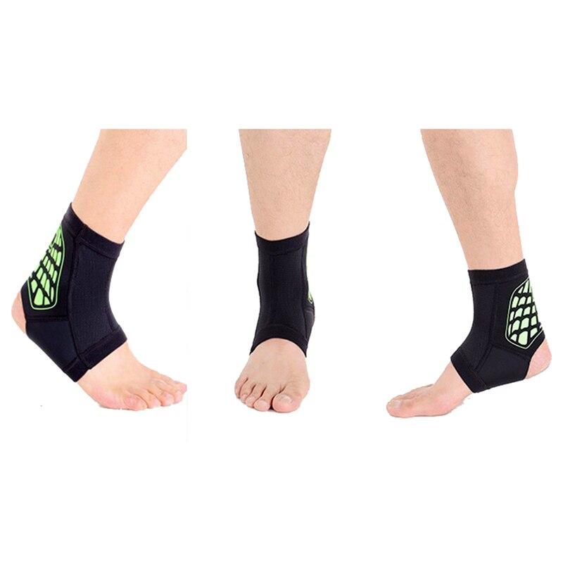Nouveau Vente AOTU de la cheville de sport pad protéger entorse de la cheville protection respirant chaleur un meilleur confort jeu de balle courir cheville brace (gris