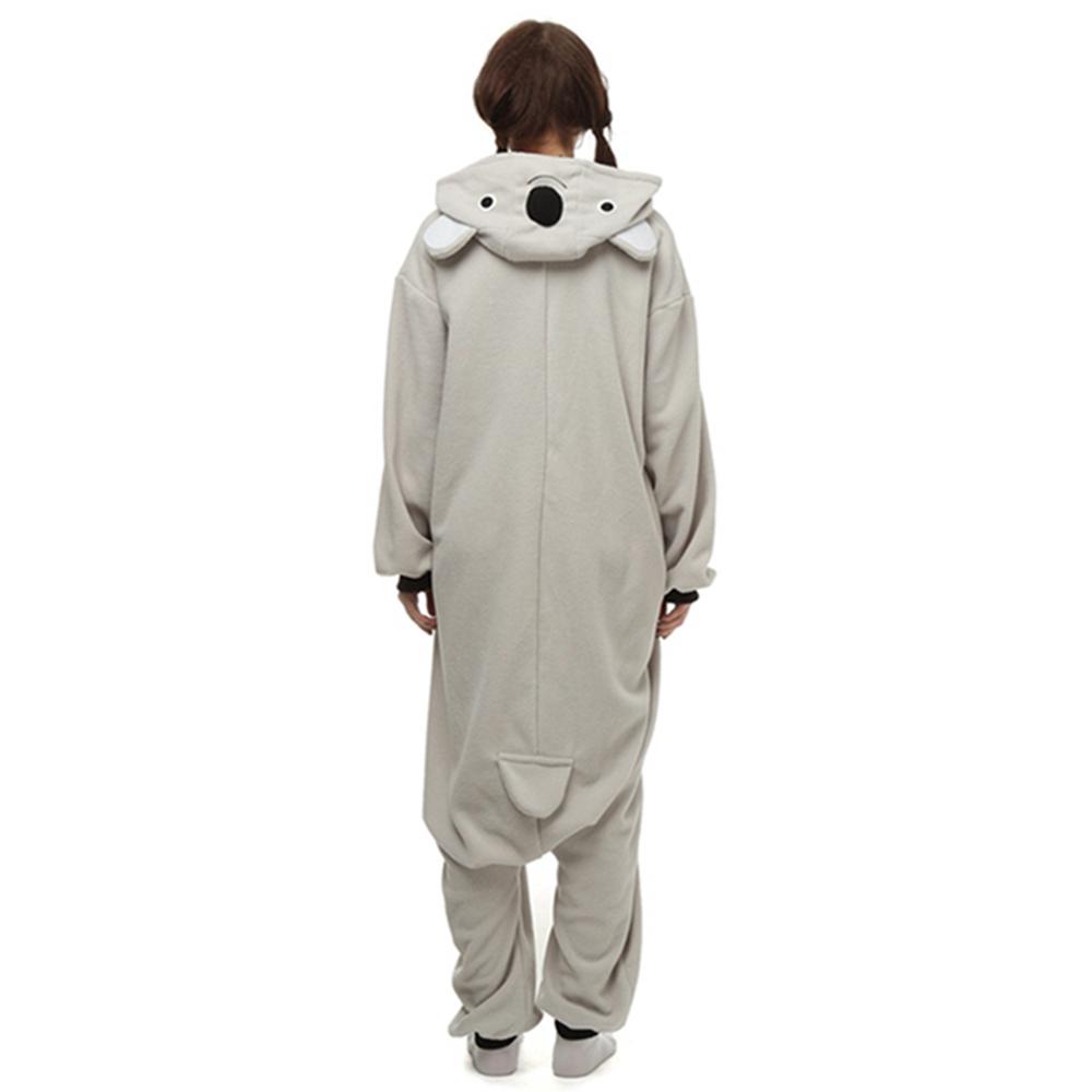 grey koala cosplay pajamas3