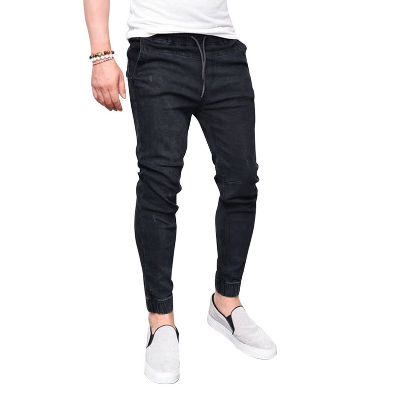 Puimentiua Mens Pencil Jeans F...