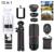2017 Nueva Cámara de lentes de Zoom de 8X Teleobjetivo Lentes de Gran Angular macro lente ojo de pez para el teléfono inteligente móvil trípode clips selfie palo