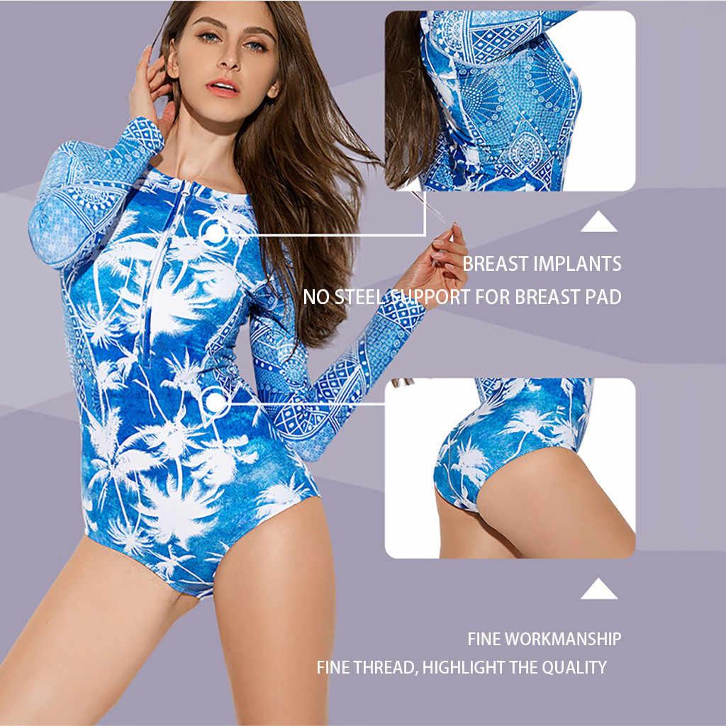 Perimedes المرأة الشمس حماية تصفح ملابس السباحة الإناث طفح الحرس طويلة الأكمام البريدي الأشعة فوق البنفسجية حماية ملابس السباحة ثوب السباحة # g25