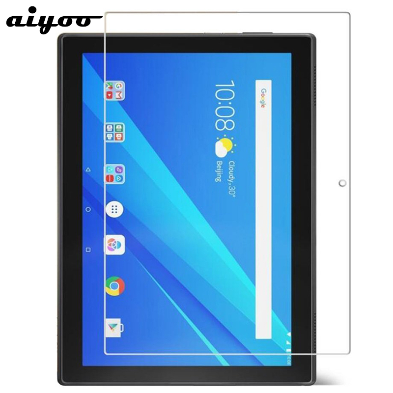 Aiyoo 9H Tempered Glass for Lenovo Tab 4 10 Screen Protector Film for Lenovo TAB4 10 TB-X304F TB-X304N 10.1 Tempered Glass Film