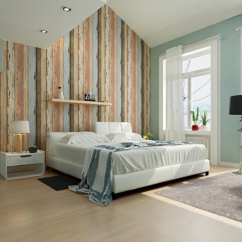 Papel pintado imitando madera amazing raw woodnote de for Papel de pared dormitorio
