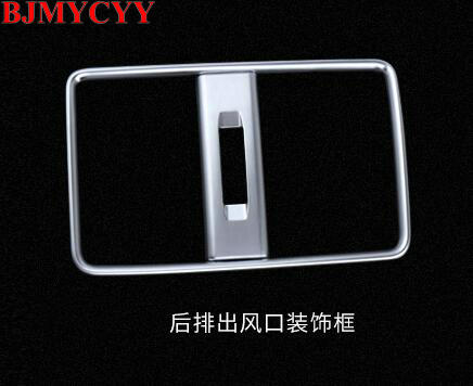 BJMYCYY High quality Car Rear Air Conditioning Vent Outlet Frame for <font><b>Mercedes</b></font> <font><b>Benz</b></font> <font><b>CLA</b></font> <font><b>200</b></font> 220 260 A B Class Accessories image