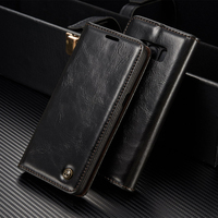 Luxury High Quality Leather Magnetic Auto Flip Wallet Stand Phone Case For Samsung Galaxy A5 2016