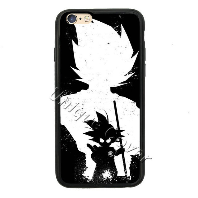 Goku Dragon Ball Z Case For iphone 5 6/6s 7 6/7 plus 6s plus TPUPC Vegeta Shenron Gohan Case Phone Cover for Ipod Touch 5th Case