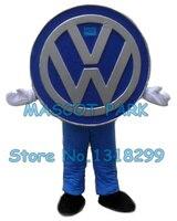 Автомобиль логотип костюм талисмана оптовая заказ рекламы реклама костюмы ходящих кукол выполнять необычные платья комплекты 2923