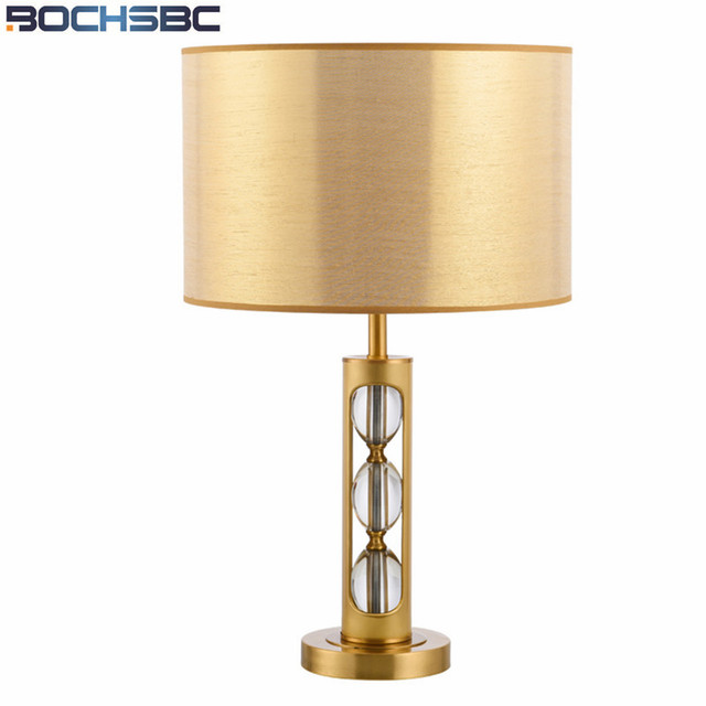 Exceptional Gold Lamp Shades Table Lamp For Living Room Bedroom Table Lamps Luxury  Copper Crystal Lampara Study