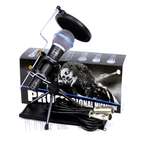 Desktop Dynamic Wired Microphone Stand Spider Boom Mic Shock Mount Wind Screen Pop Filter For BETA58A Mixer Audio With XLR Cable