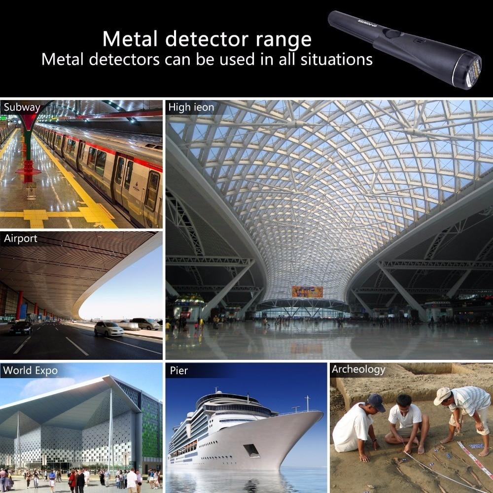 Profesionalus metalo detektorius Požeminis aukso kasimo aparatų - Matavimo prietaisai - Nuotrauka 2