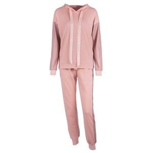 Image 5 - XUANSHOW Streetwear Cotton Casual Tracksuit Womens Autumn Winter Zipper Irregular Stitching Hoodies Long Pant Two Piece Suit