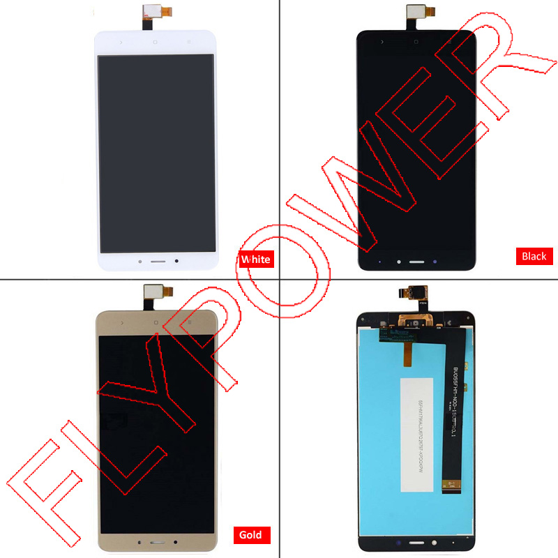 For Xiaomi Redmi Note 4 LCD Display Touch Screen Replacement For Xiaomi Redmi Note 4 Prime Pro in Black White Gold mixed colors